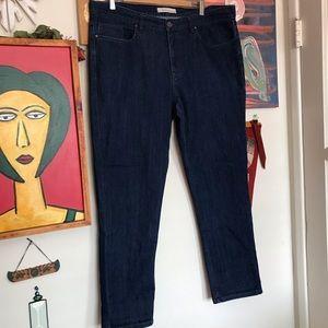 PERRY ELLIS STRAIGHT LEG MENS STRETCH JEANS 38x30